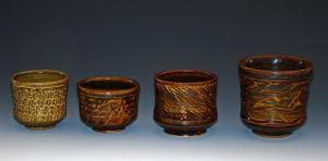 Cups; Slip textured