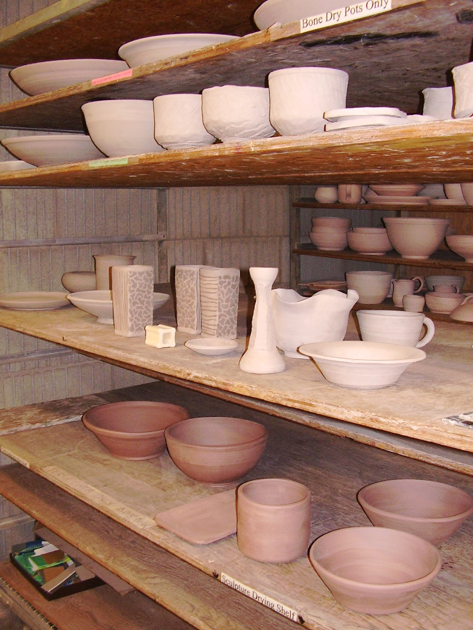 Drying Cabinet For Pottery Studio ~ Workflow caw pottery