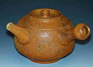 Teapot; Wood fired